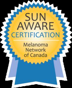 Sun Aware Certification - Melanoma Network of Canada