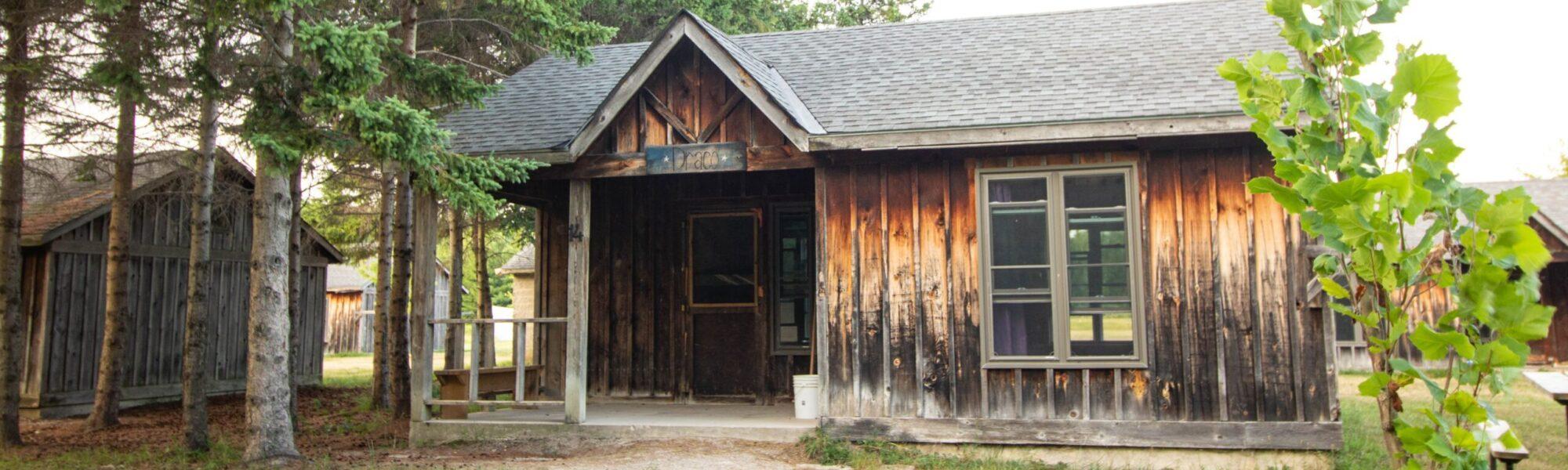 cabins at Camp Huron