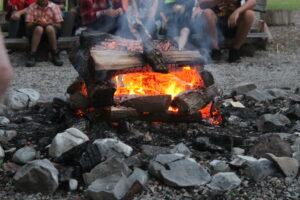 Campfire, we love campfire
