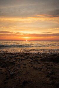 sunsetpebbles